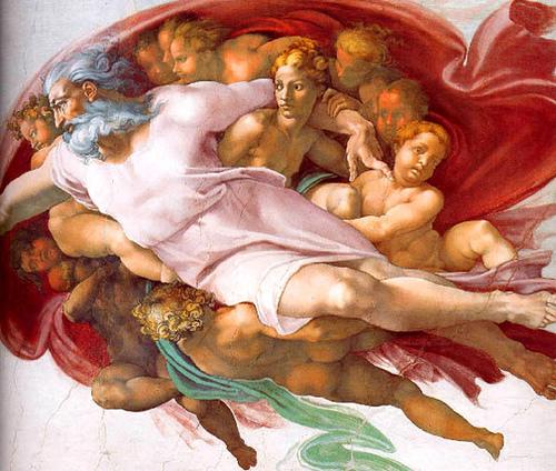 michelangelo-god
