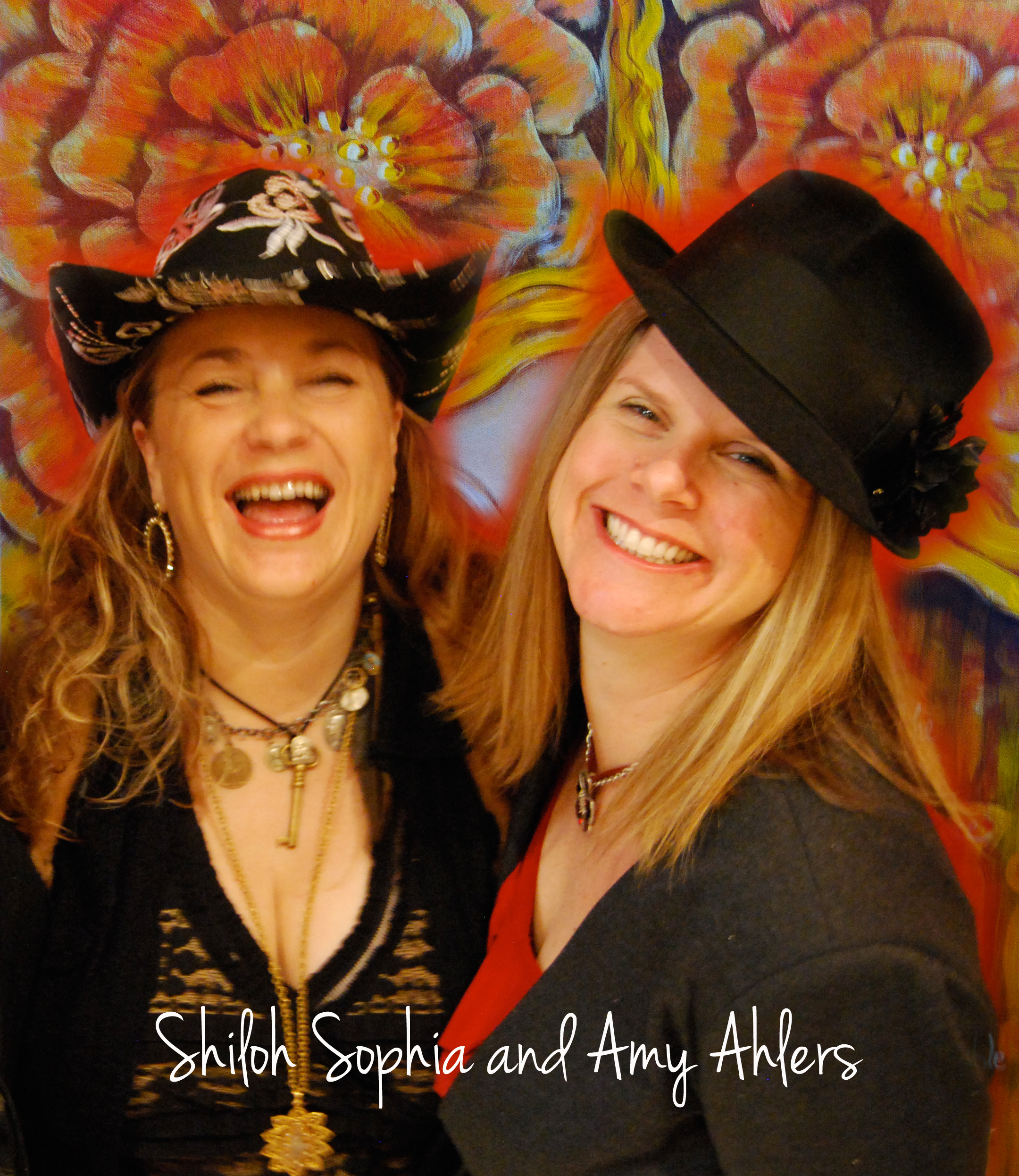 Shiloh Sophia and Amy Ahlers