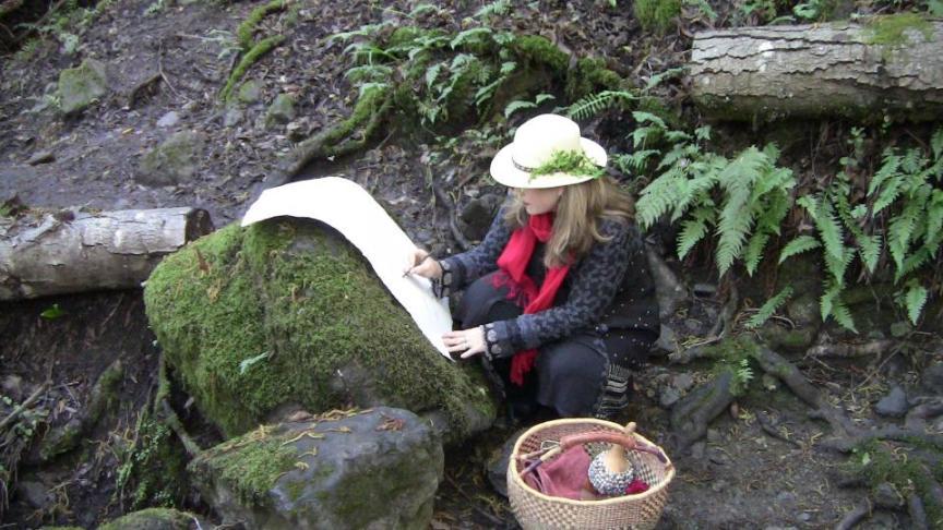 Shiloh Writing on Rock