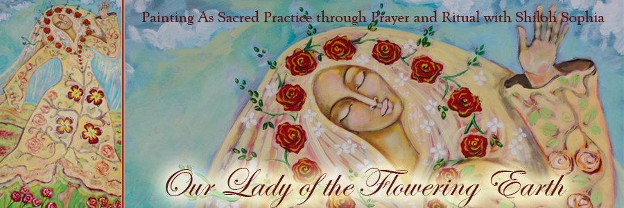 Our Lady of the Flowering Earth Header
