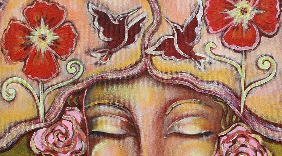closed eyes by Shiloh Sophia