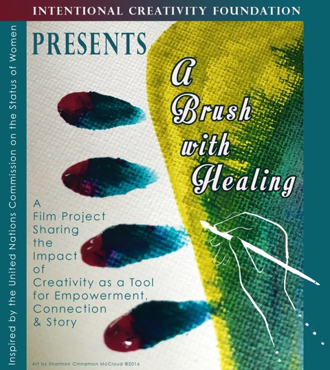 A Brush With Healing Graphic