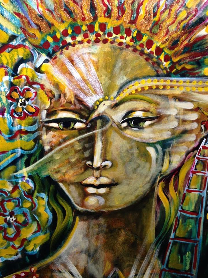 Legend golden painting shiloh