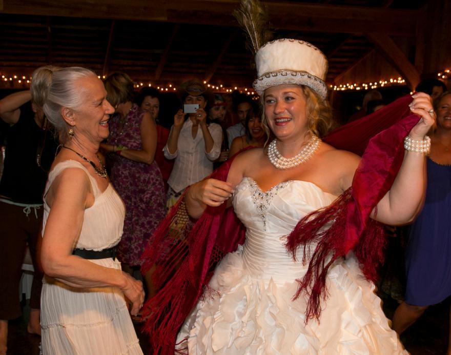 Shiloh Sophia dancing with Caron McCloud