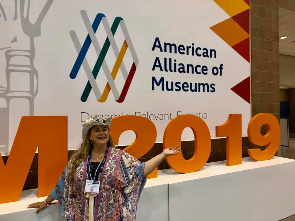 Shiloh Sophia at the American Alliance of Museums