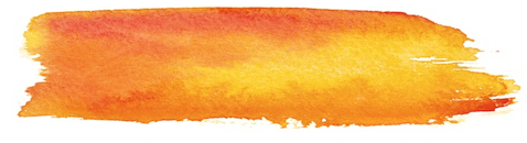 orange paint swish