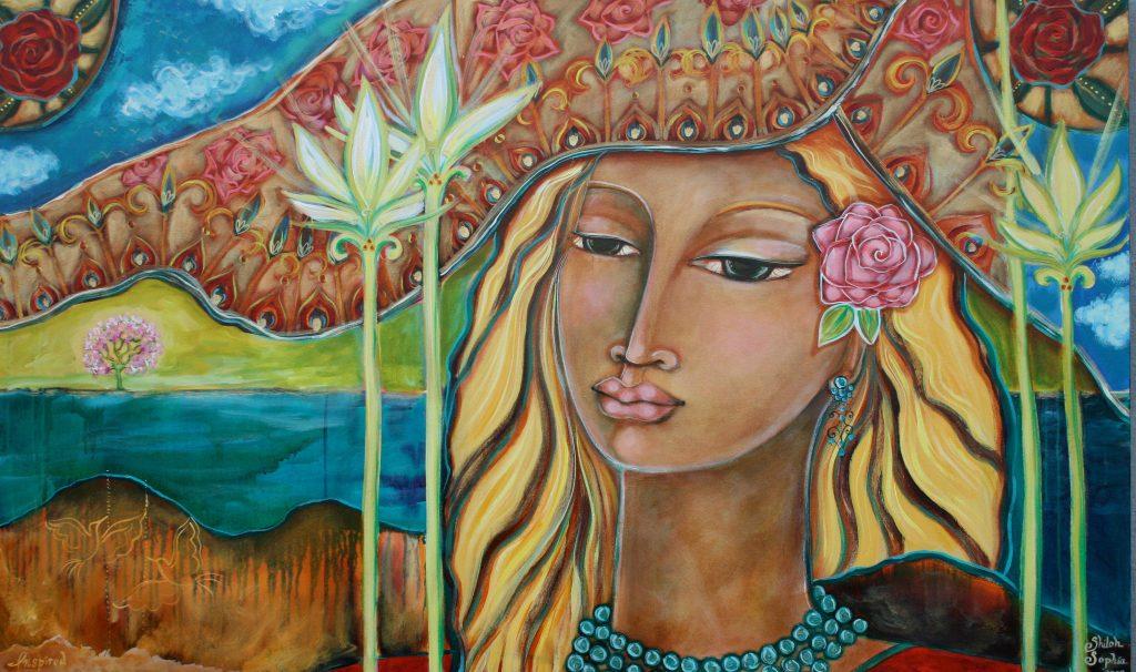 Inspired: Self Portrait by Shiloh Sophia 2009