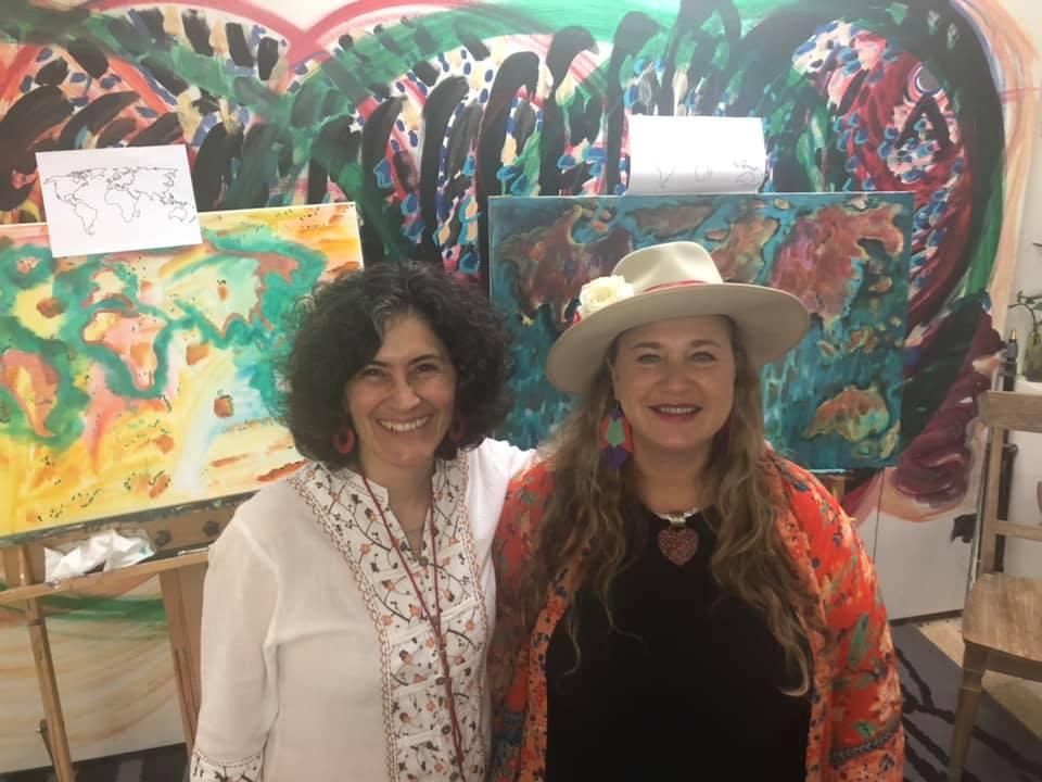 Adriana Medina and Shiloh Sophia