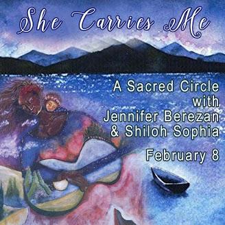 She Carries Me Sacred Circle