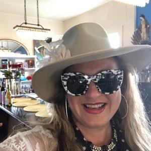 Shiloh in Sunglasses at Musette