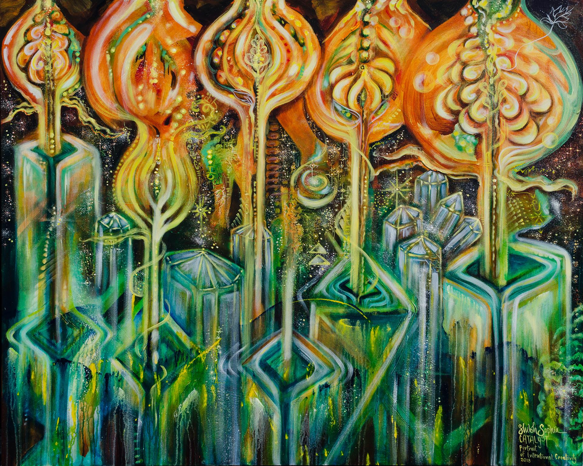 shiloh sophia catalyst painting