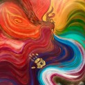 This surprised me + new phoenix painting!